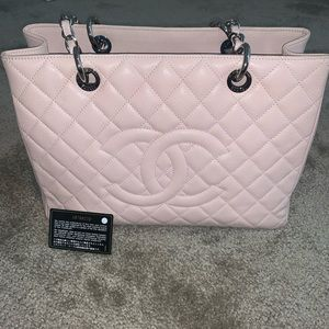 Like New Chanel Pink GST